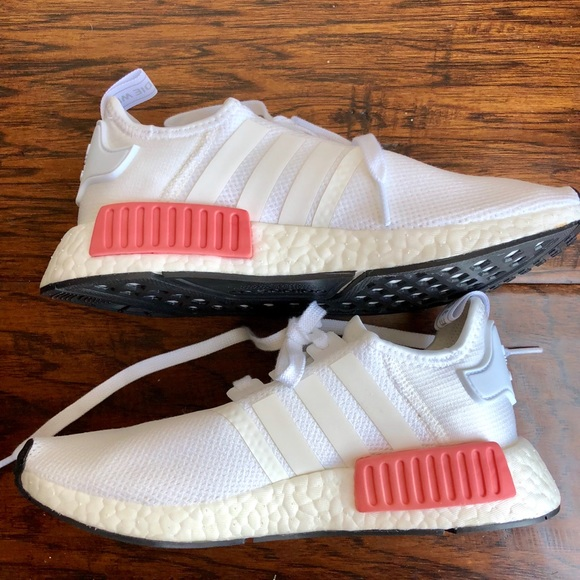 Adidas NMD white and pink size 6.5 white rose 67eed512a